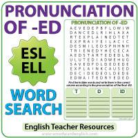 Pronunciation Of Ed In English