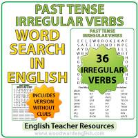 Past Tense Irregular Verbs List English Grammar Verbos